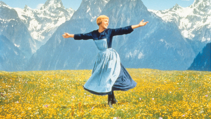 Julie Andrews in the Sound of