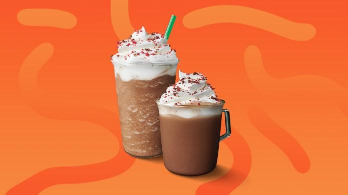 starbucks cherry mocha latte