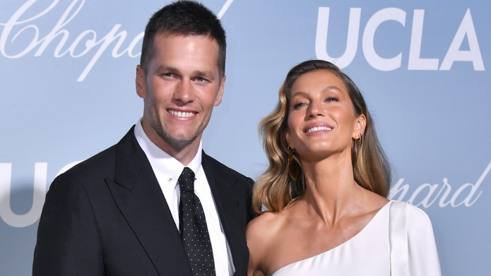 Tom Brady and Gisele Bundchen at