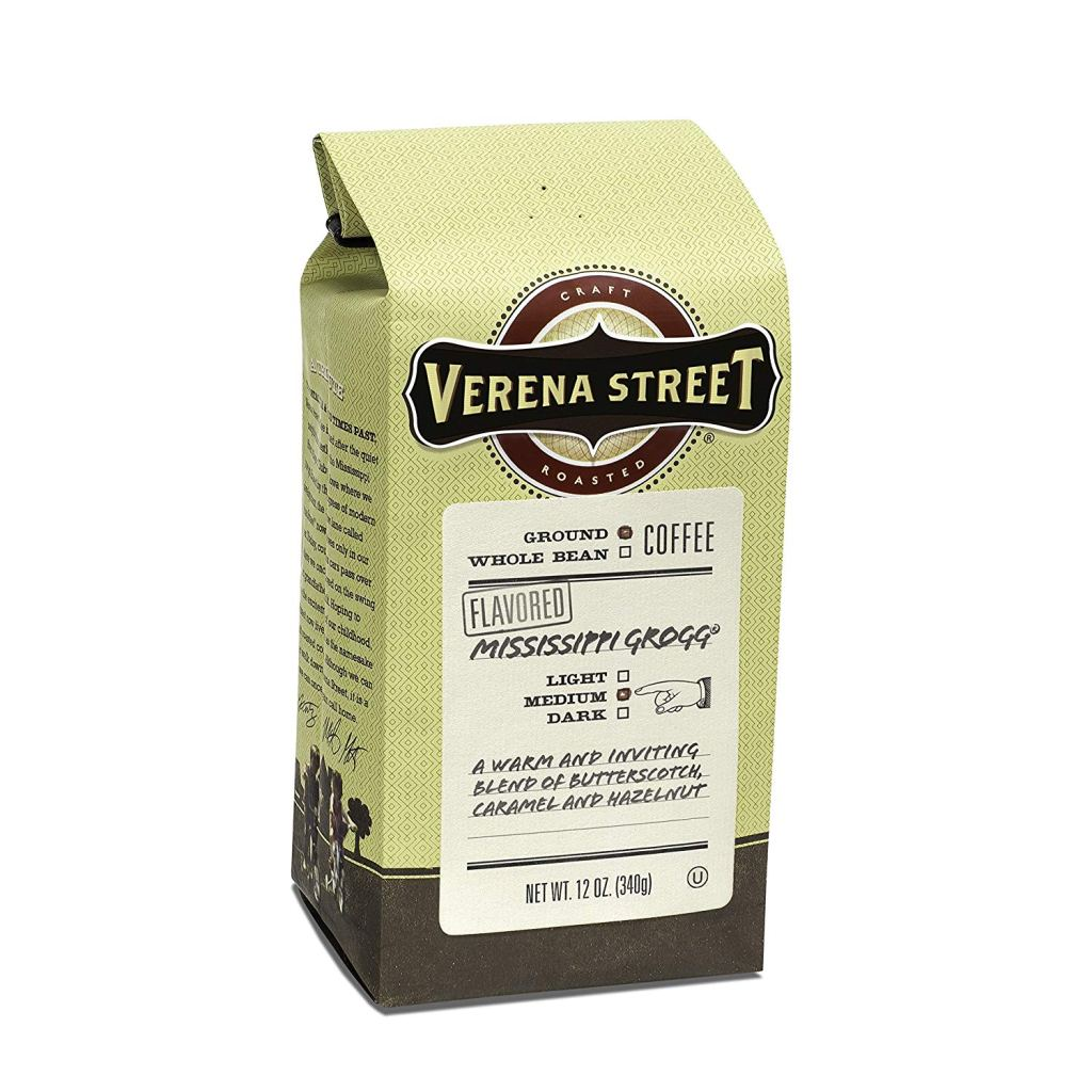 Verena Street grocery store coffee.