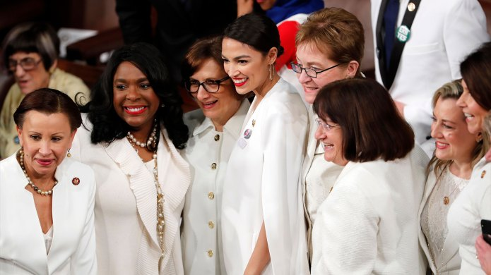 Democratic women during the 2019 State
