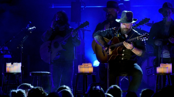 Zac Brown Band perform onstage during CMT Crossroads on September 11, 2018 in Franklin, Tennessee. CMT Crossroads: Shawn Mendes and Zac Brown Band premieres Wednesday, October 24 at 10pm ET/PT.