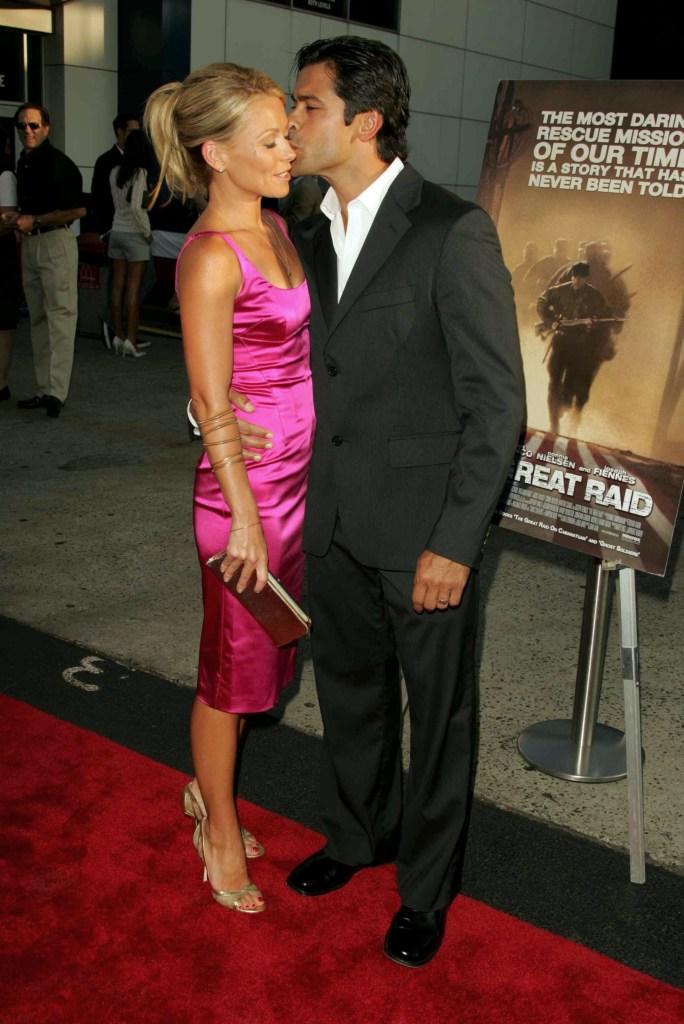Kelly Ripa and Mark Consuelos 'THE GREAT RAID' FILM PREMIERE, NEW YORK, AMERICA - 10 AUG 2005