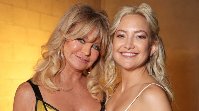 Kate Hudson and Goldie Hawn red