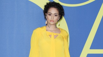 Kehlani in yellow dress