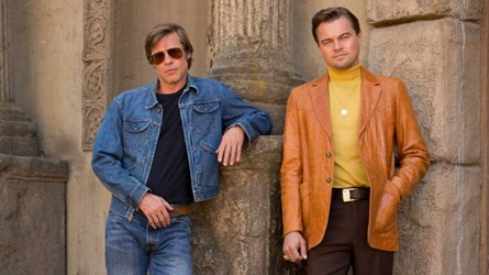 Pitt and DiCaprio in 'Once Upon