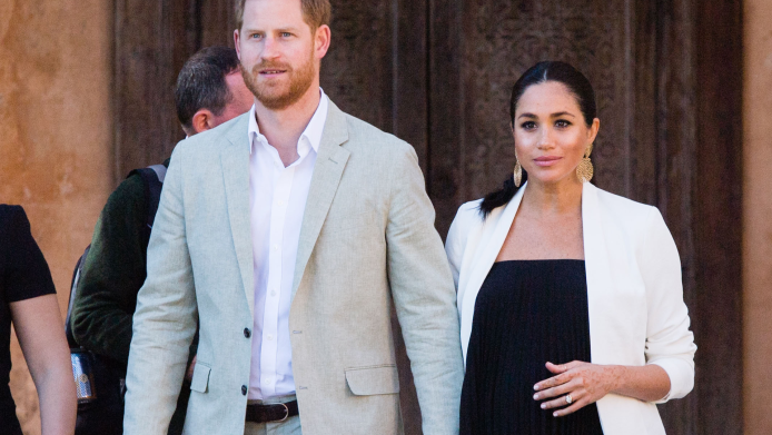 pregnant meghan markle and prince harry