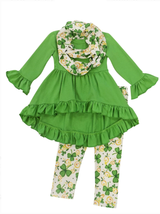 St. Patrick's Day Kids Outfits for Your Little Leprechaun: So Sydney Shamrock Outfit