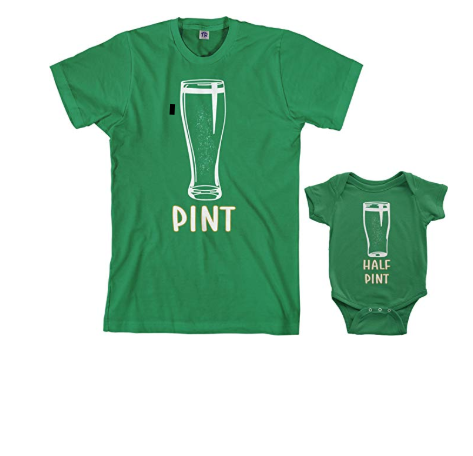 Uploaded ToThe Cutest St. Patrick's Day Kids Outfits for Your Little Leprechaun: Threadrock Pint & Half Pint Matching Set