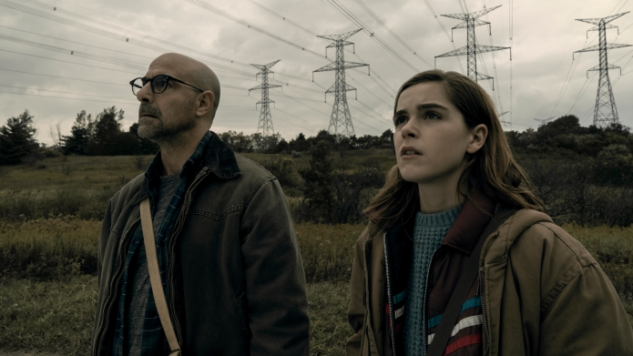 Photo of Stanley Tucci and Kiernan