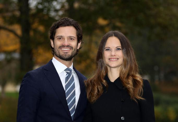 Princess Sofia and Prince Carl Philip Swedish Royals visit to Värmland, Sweden - 21 Oct 2016