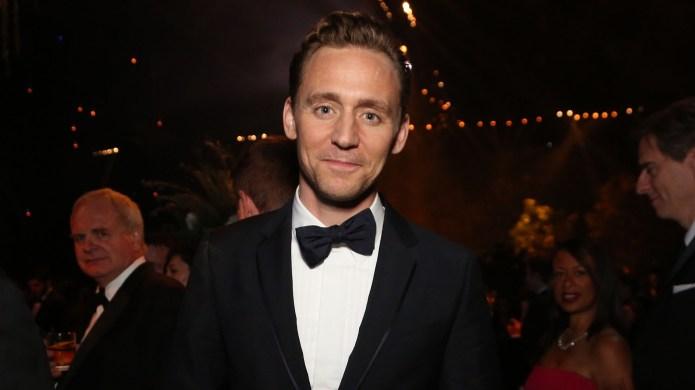 Tom Hiddleston in black tux
