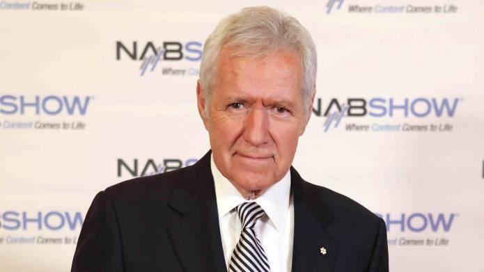 Alex Trebek at the NAB Broadcasting