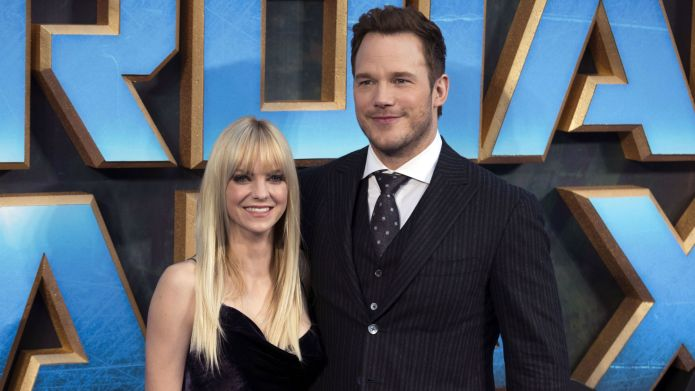 Photo of Anna Faris and Chris
