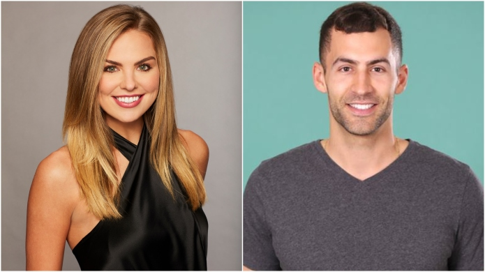 'Bachelorette' Hannah Brown and contestant Matt