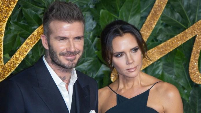David Beckham Honors Wife & Daughter