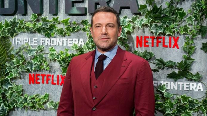 Ben Affleck attends the 'Triple Frontier'