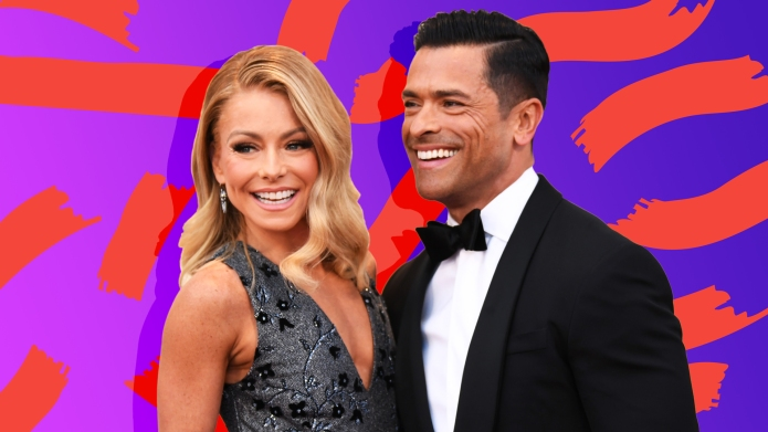 treated photos of kelly ripa and