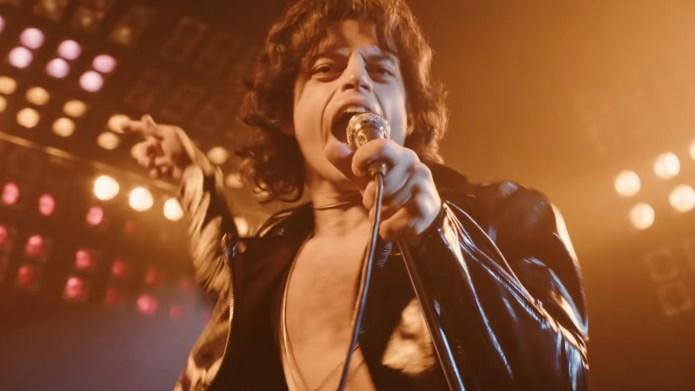 Rami Malek as Freddie Mercury in