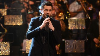 Michael Buble at 'Jools' Annual Hootenanny'