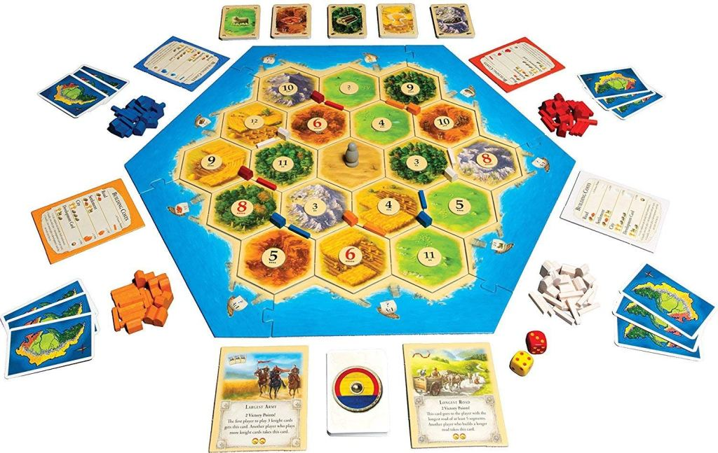 Catan board game.