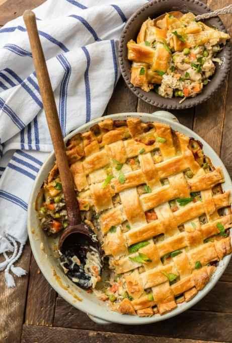 Chicken Potpie Casserole