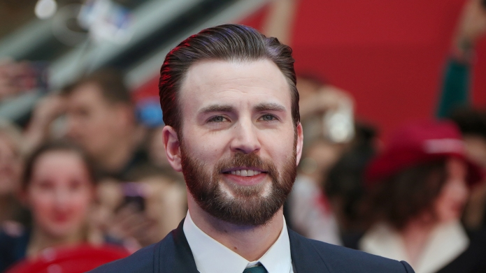 Chris Evans attends the European film