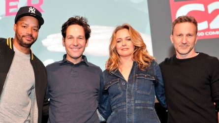 Donald Faison, Paul Rudd, Alicia Silverstone