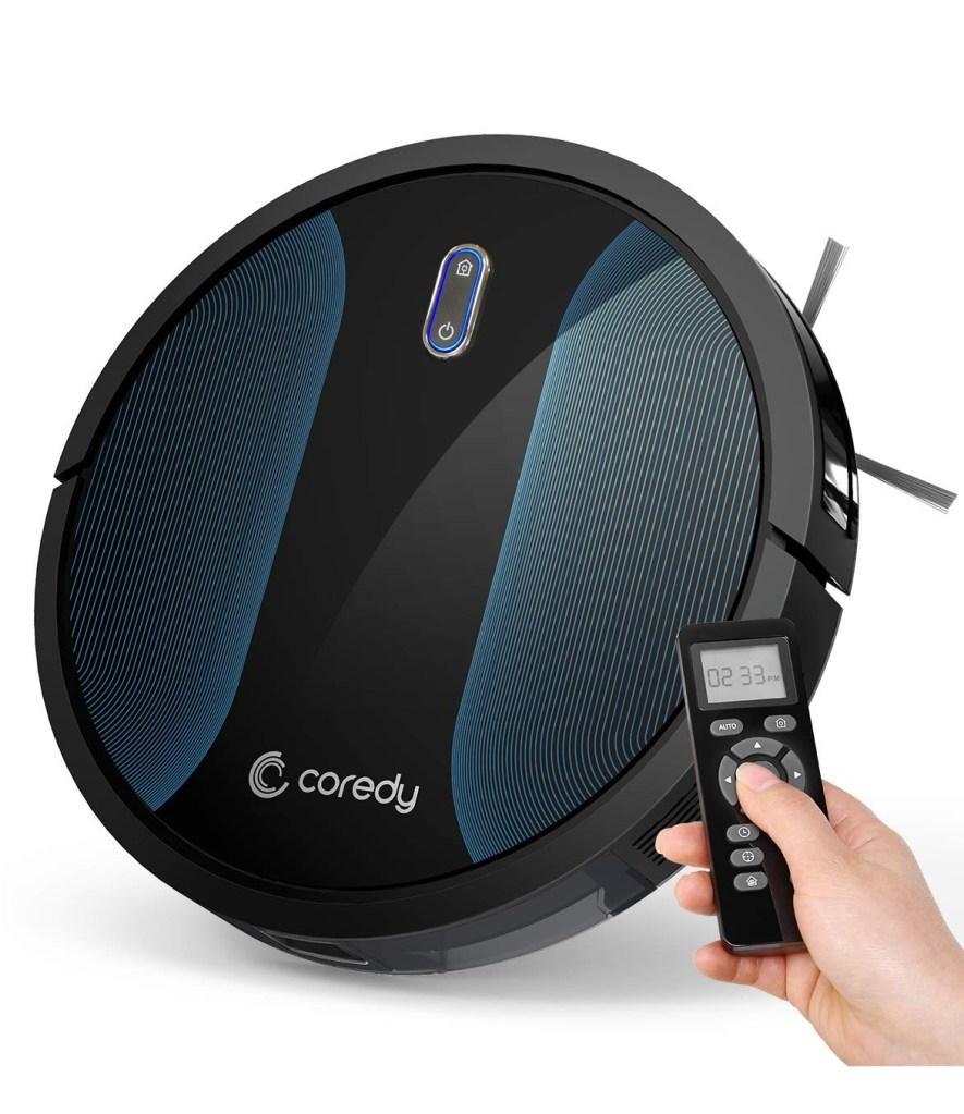 Coredy robotic vacuum cleaner.