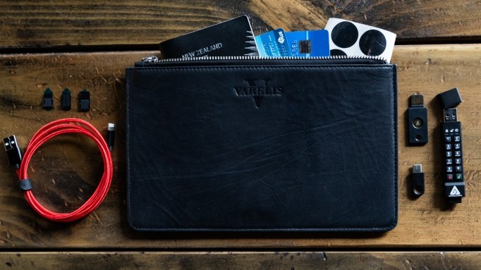 Varelis cyber security travel kit.