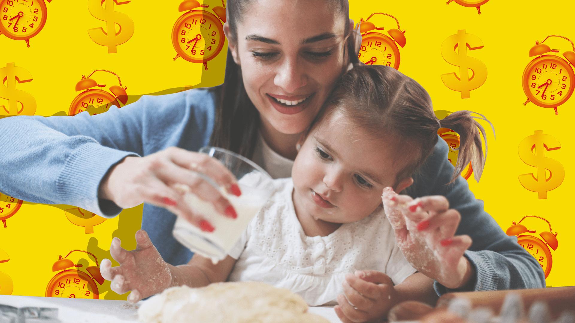 Babysitter feeds baby girl