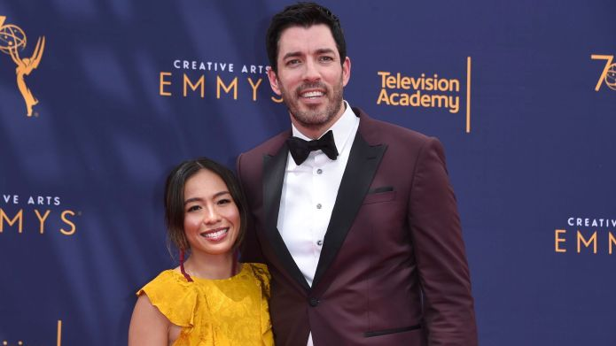 Linda Phan and Drew Scott attend
