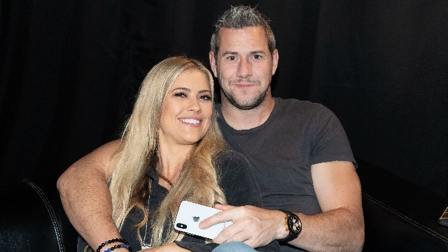 Christina El Moussa and Ant Anstead in Austin, Texas in June 2018