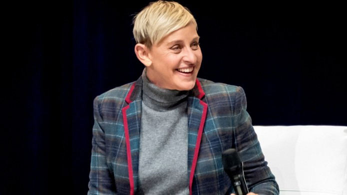 Ellen DeGeneres in Toronto in March
