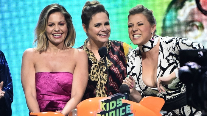 Candace Cameron Bure, Andrea Barber and