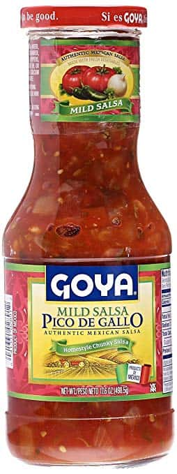Goya pico de gallo salsa