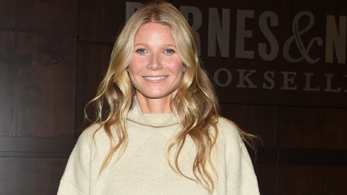 Gwyneth Paltrow at a book signing.