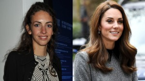 Treated collage of Rose Hanbury and Kate Middleton