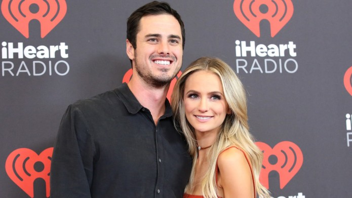 Ben Higgins and Lauren Bushnell at