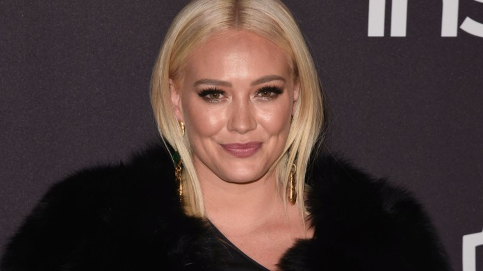 Hilary Duff arrives at the 2019