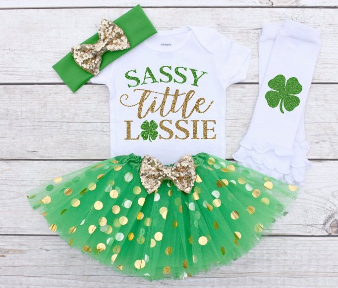 "The Sassy Bride ""Sassy Little Lassie"" Outfit"
