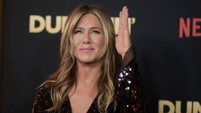 Jennifer Aniston attends the world premiere of 'Dumplin'