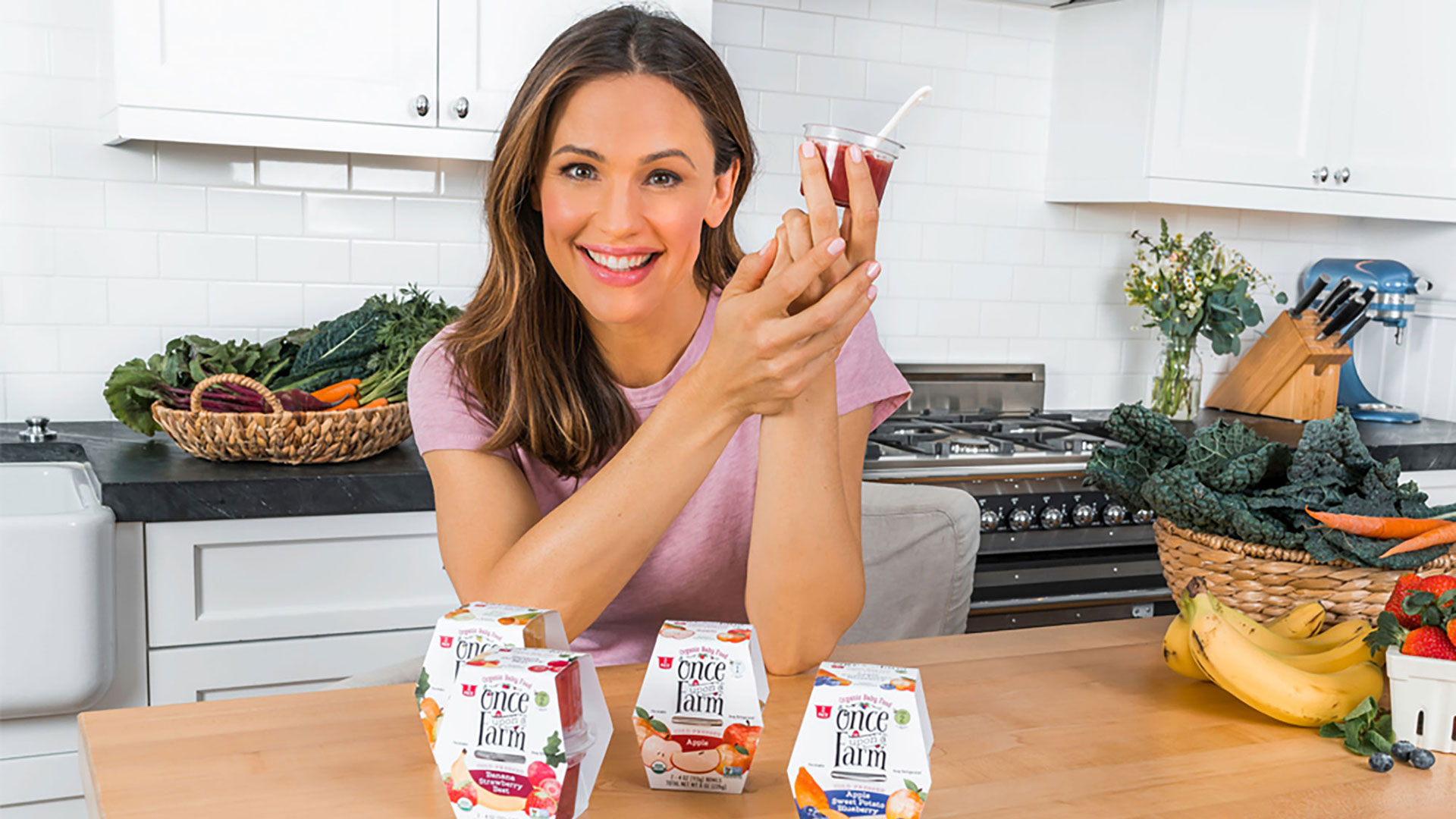 Jennifer Garner S Baby Food Line Once Upon A Farm Is Wic Approved Sheknows
