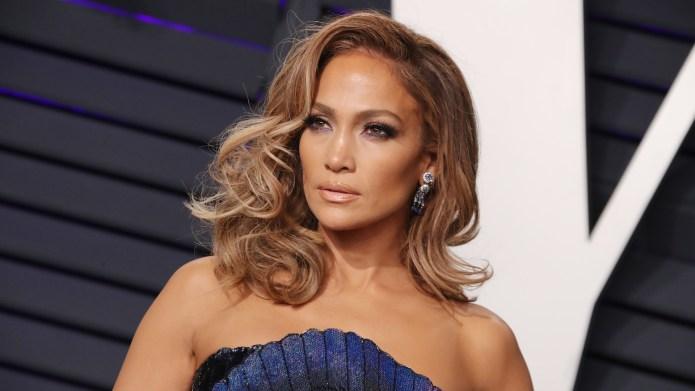 Jennifer LopezVanity Fair Oscar Party, Arrivals,
