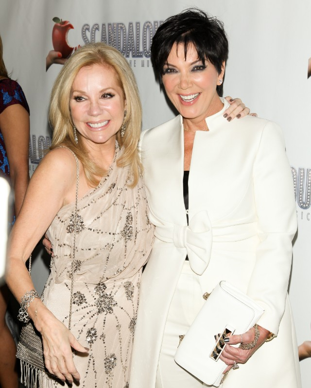 Gifford and Jenner at 'Scandalous' play opening night on Broadway,