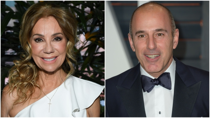 Kathie Lee Gifford and Matt Lauer.