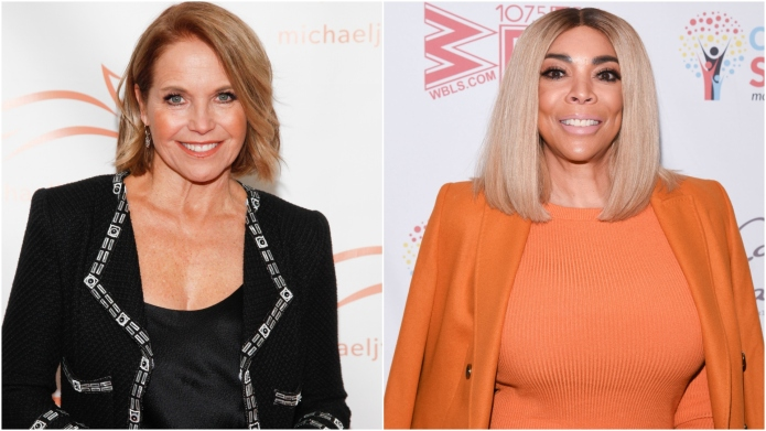 Katie Couric and Wendy Williams.