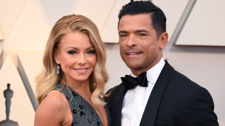 Kelly Ripa and Mark Consuelos.