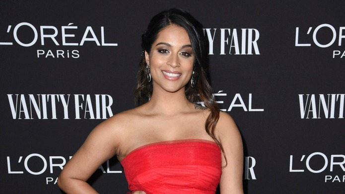 Lilly Singh arrives at the 2019