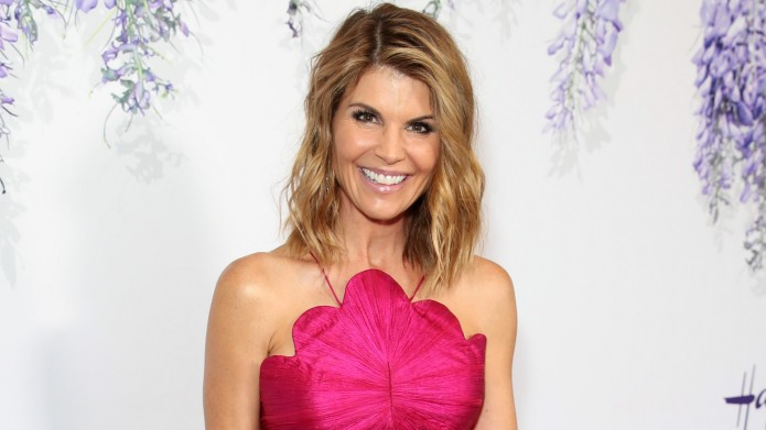 Lori Loughlin at Hallmark event